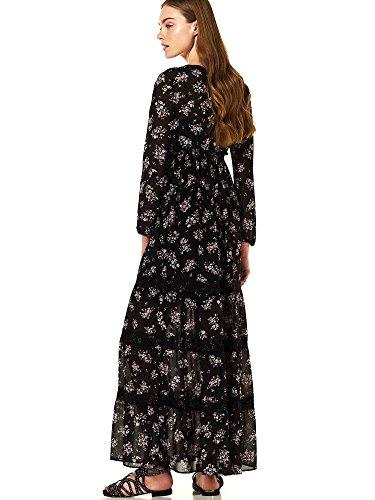 Liu-jo W18377T9831 Vestito Donna Nero 46