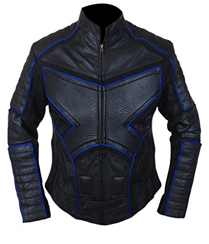 F&H Men's X2 X-Men United Genuine Leather Jacket M (Cyclops Costume X Men)