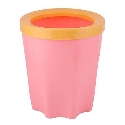 uxcell plástico cocina baño extraíble anillo residuos basura basura basura puede titular