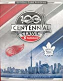 img - for 2017 CENTENNIAL CLASSIC GAME PROGRAM NHL TORONTO MAPLE LEAFS DETROIT RED WINGS book / textbook / text book