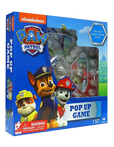 Nickelodeon Paw Patrol Pop Up Game (Patrol Games Paw)