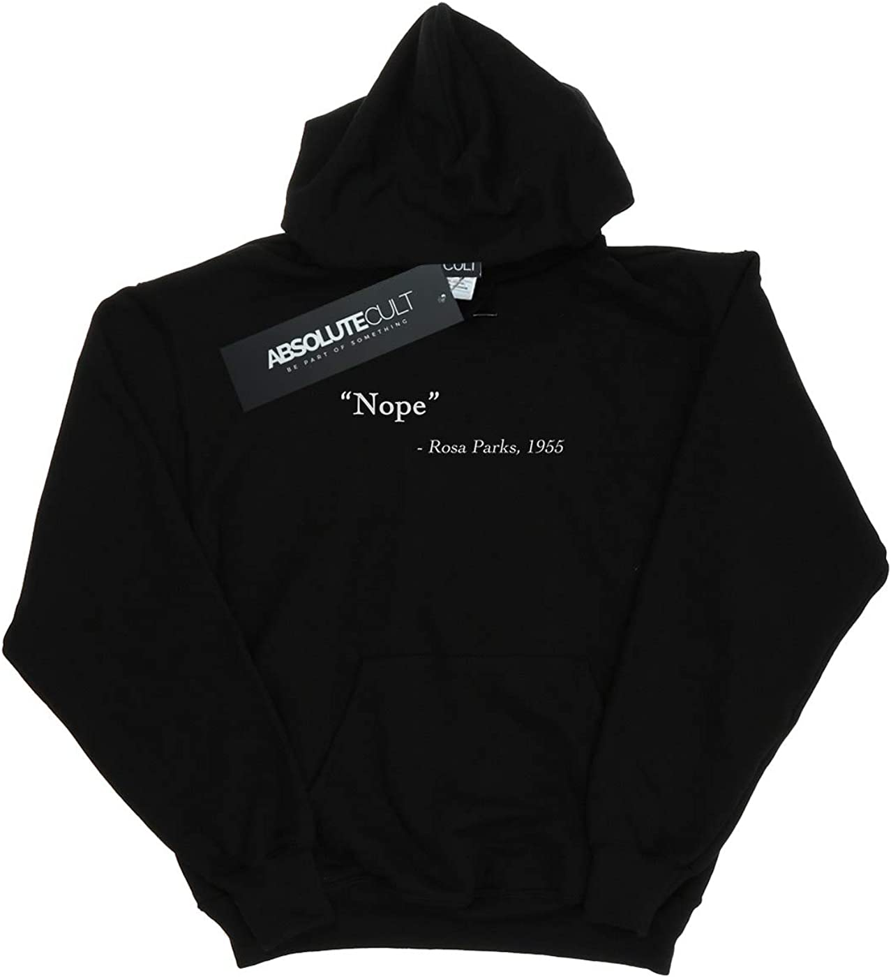 Absolute Cult Drewbacca Girls Rosa Parks Quote Hoodie