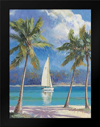 Island Breeze Framed Art Print by Mirkovich, ()