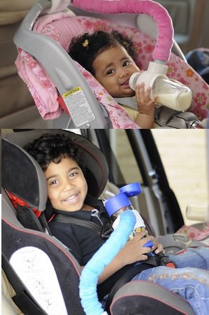 Amazon.com : Baby Bottle Holder Mothers 3rd Arm Boy/ 2 Pack ...