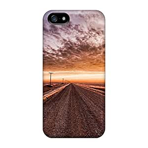 High Quality Shock Absorbing Cases For Iphone 5/5s-prairie Fields