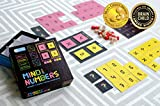 Mind Your Numbers Math Game Puzzles for Kids of Ages 8 & Up. Gifts for Boys & Girls. Educational STEM Toys. Improves Arithmetic, Logical Thinking
