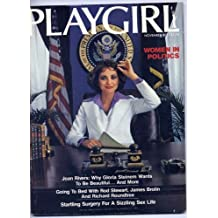 Playgirl Magazine November 1977 Women in Politics; Going to Bed with Rod Stewart, James Brolin and Richard Roundtree; Startling Surgery for a Sizzling Sex Life
