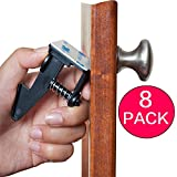 Baby : Child Safety Cabinet Latches 8 Pack Quick Easy Install No Tools Drilling or Measuring Universal Baby Proofing Locks