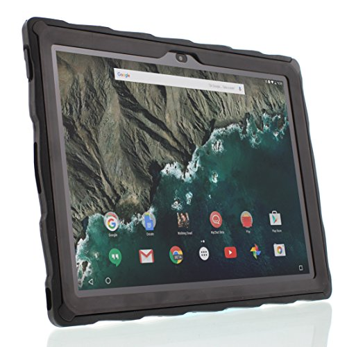 Price comparison product image Gumdrop Cases Droptech for Google Pixel C Tablet Rugged Tablet Case Shock Absorbing Cover GA3A00074-A14,  GA3A00219-A14,  Black