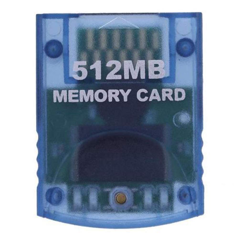 osierr6 Memory Card Storage Module Mini High Speed Large Capacity Professional Data Save Durable Gaming for Wii 512 MB by osierr6