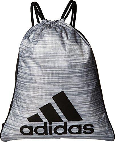 adidas Burst Sack Pack, One Size, Looper White Heather/Black