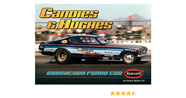 McEwen Barracuda Funny Car HARD Body W Decals 1:25 PL Search LBR MODEL PARTS
