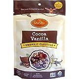 ShaSha Cocoa/Vanilla Organic Clusters
