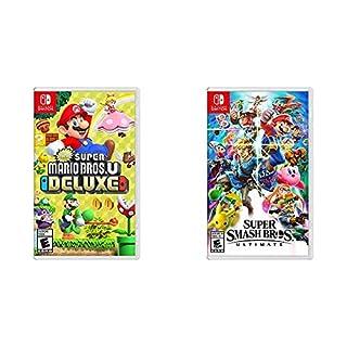 New Super Mario Bros. U Deluxe - Nintendo Switch Bundle with Super Smash Bros. Ultimate