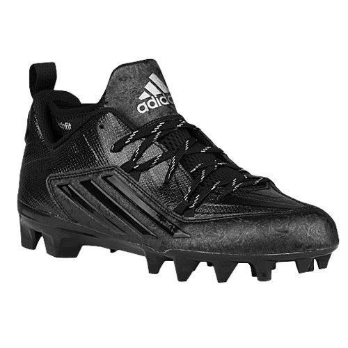 adidas Men's Crazyquick 2.0 Football Cleats (9.5, Black)