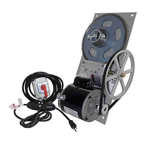 BH-USA Galvanized BH-40 Standard Boat Lift Hoist Combo Box with Spring Switch/110 V GFCI