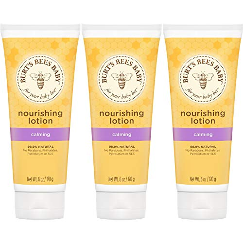 Burt's Bees Baby Nourishing Lotion, Calming Baby Lotion - 6...