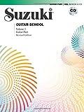 Suzuki Guitar School, Vol 1: Guitar Part, Book & CD