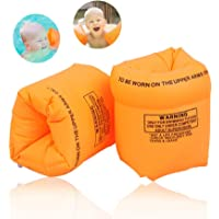 Kid's Inflatable Armbands Swimming Pool Roll Up Float 1-15 Years