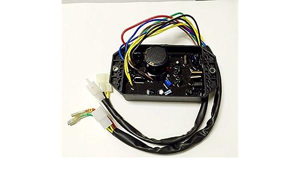 yamasco 186 F-188 F Honda 5 kW AVR automática diesel regulador de voltaje 4,5 kW a 6,5 kW generador soldador soldadura gen-welder: Amazon.es: Coche y moto