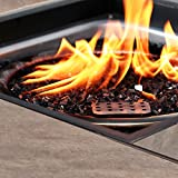 BALI OUTDOORS 32-Inch Outdoor Propane Gas Fire Pit