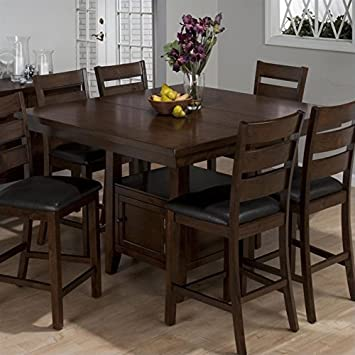 kitchen counter table design tables height island double header dining brown cherry white sets