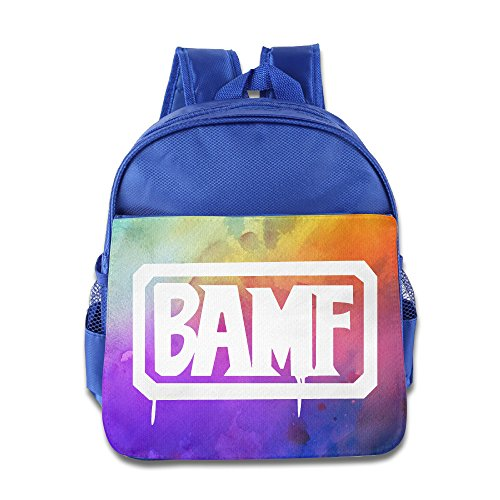 Price comparison product image CEDAEI MCCREE BAMF Over First-person Shooter Video Game Watch Cute Teenager Schoolbag For 1-6 Years Old RoyalBlue