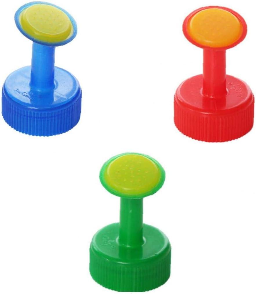 XKJFZ 3 PCS Móvil Cabo Riego por Aspersión Botella De Plástico Cabezales De Boquillas para IR Al Baño para La Siembra De Casa (Color Al Azar): Amazon.es: Hogar