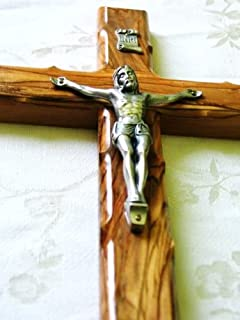 Wall Cross Crucifix Olive Wood 5