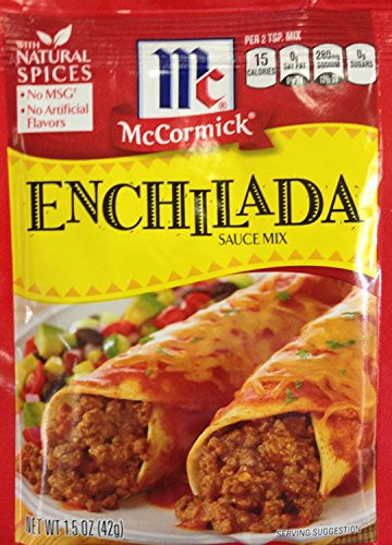 McCormick ENCHILADA Sauce Mix 1.5oz (6 Packets)