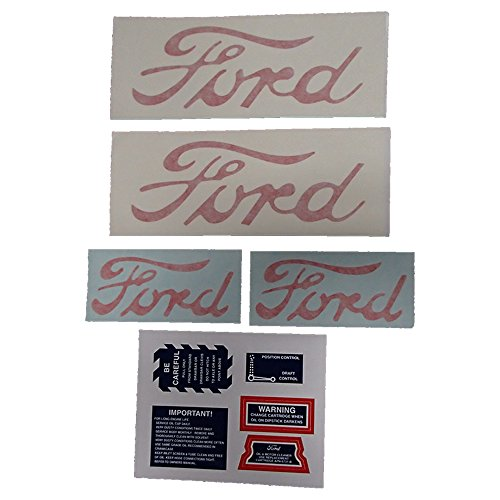 - 8N5052D Decal Set (Without Proof Meter Decal) Made for Ford/New Holland 8N Tractor