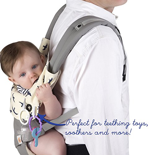 9efb6c832c1 Amazon.com   Baby Preferred Drool and Teething Pad for Ergo Baby Four  Position 360 Baby Carrier