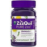 Vicks ZzzQuil Pure Zzzs Melatonin Sleep Aid, 60 Gummies