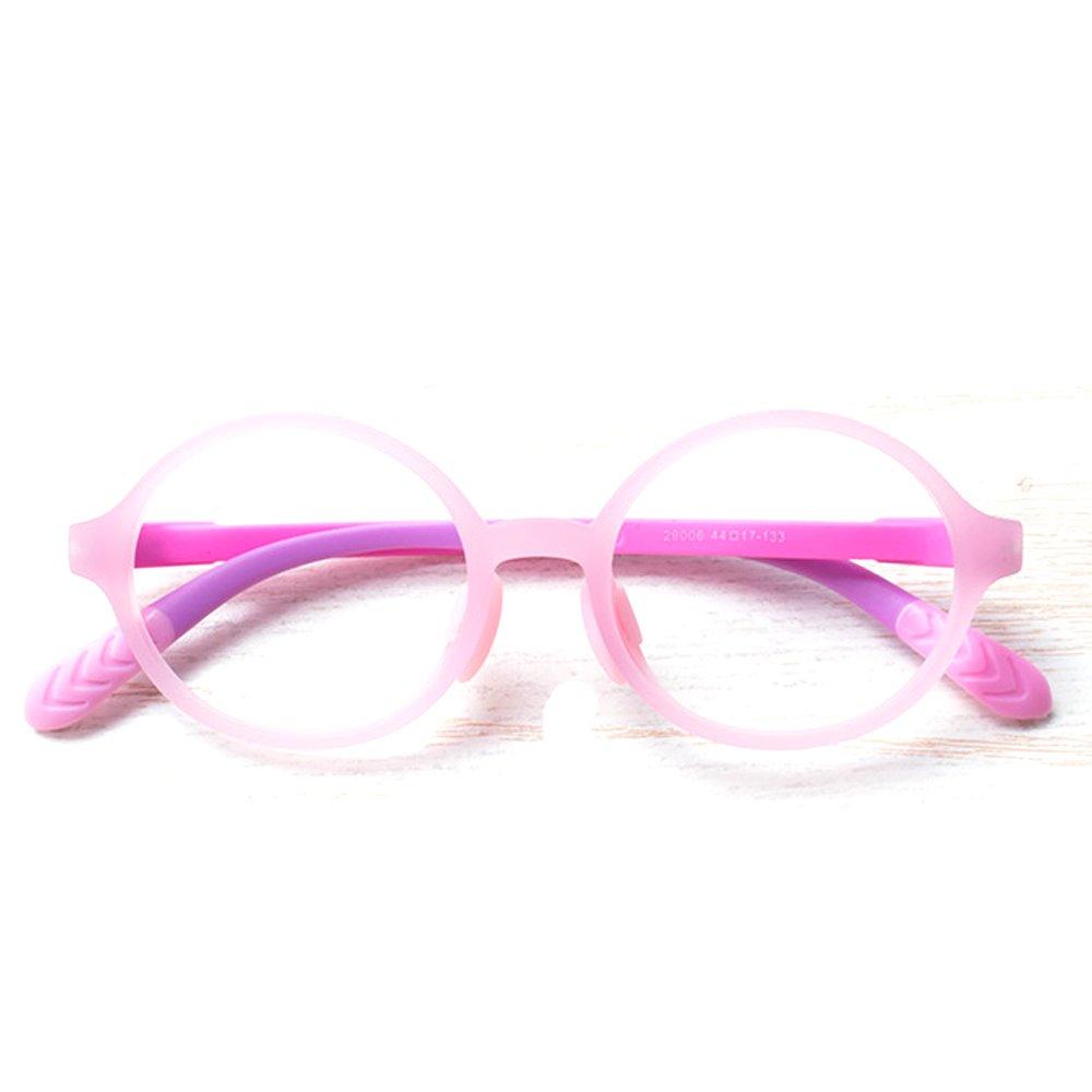 Fantia Candy colors eyeglass frame children eyewear round frames for boy and girl (C)