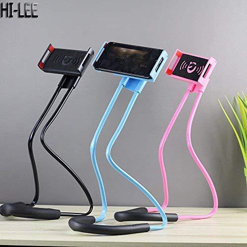 HI-LEE Neck Stand 360 Degree Rotation Flexible Multi-Function Creative Mobile Phone Holder