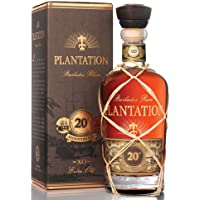 Plantation 蔗园 20周年朗姆酒 XO Rum 20th Anniversary 40%vol 700毫升 法国进口 洋酒