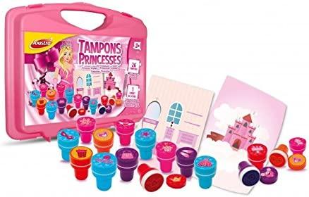 Joustra Mallette Tampons Princesses 41526