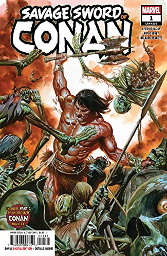 Savage Sword Of Conan #1 (Marvel, 2019) NM