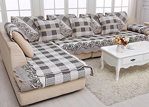 Awe Inspiring Four Seasons Cotton Cloth Sofa Cushion Simple Modern High Short Links Chair Design For Home Short Linksinfo