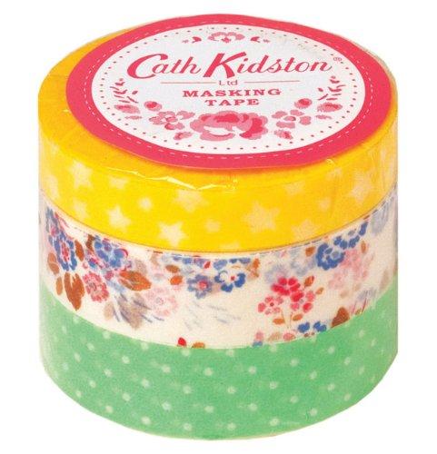 Cath Tape - Cath Kidston Tape Yellow Stars