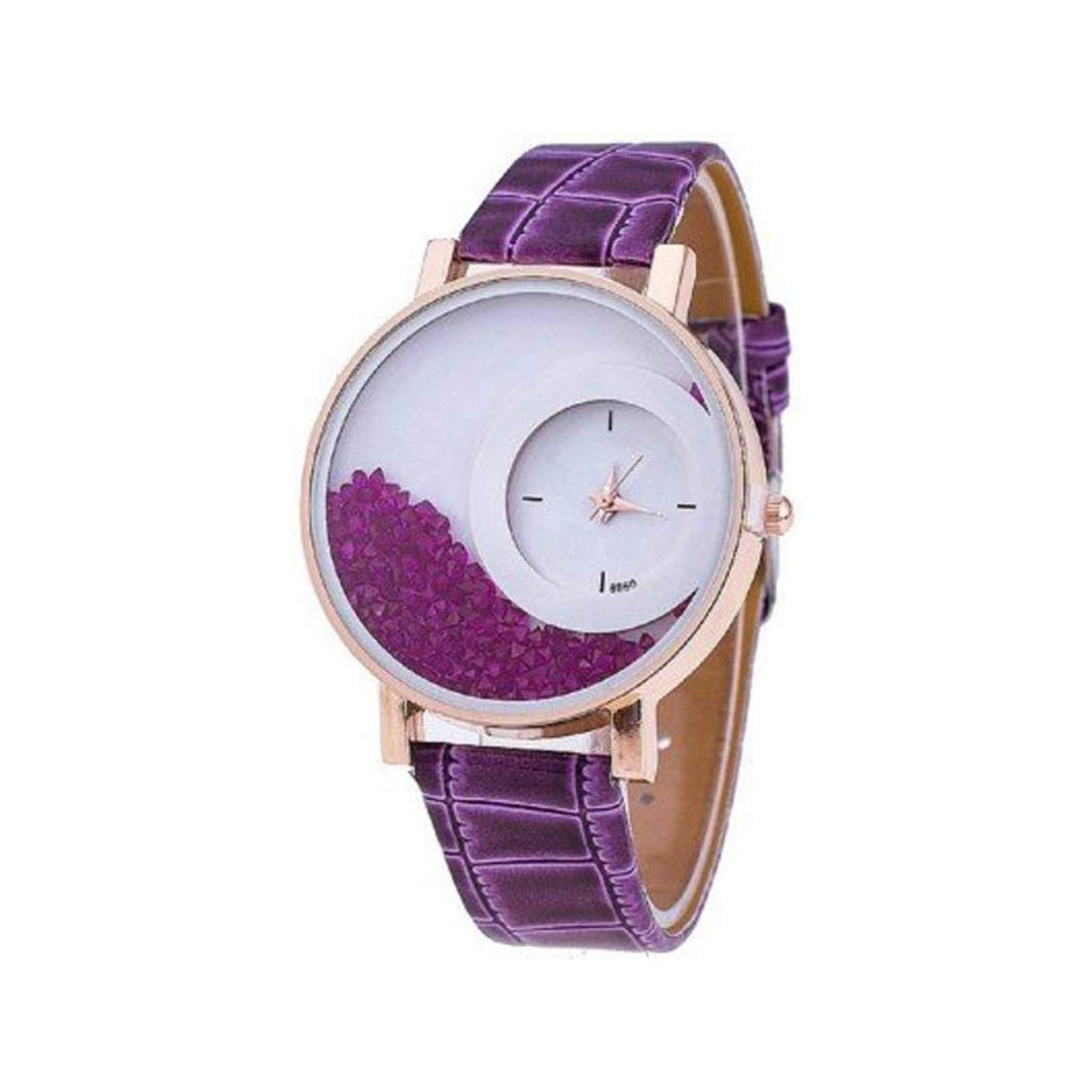 Buy Ansh All New Designer max-re Movable Diamond Watch for