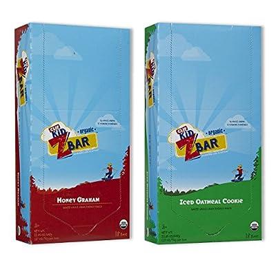 Kid Zbar 18 Honey Graham/18 Iced Oatmeal Cookie (18 Both Flavors)