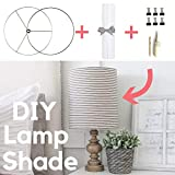 Lampshade Glue Kit - Includes Tacky Glue + 6 Binder Clips + Moulding Stick - Perfect for Making Handmade Lampshades - Quick Dry Tacky Glue Dries Clear - Part of DIY Lampshade Kit - Tacky Glue