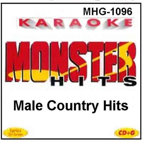 Monster Hits Karaoke #1096 - Male Country ()