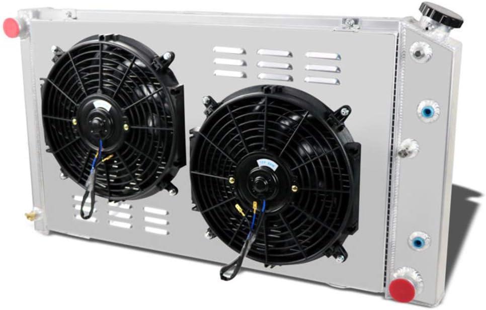 "3 ROW ALUMINUM RADIATOR W// SHROUD /& 16/"" FAN 60 61 62 63 64 BUICK SKYLARK ELECTRA"