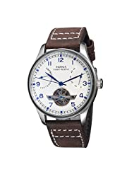 Fanmis Luxury White Dial Seagull Power Reserve Chronometer Automatic Mechanical Watch