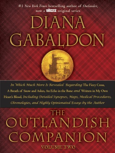 97% Rave Reviews!  Save $15 today only on the perfect gift for readers of the bestselling Outlander novels!  The Outlandish Companion Vol. 2 by Diana Gabaldon