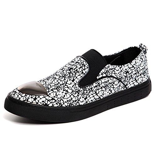 Zapatos de verano/Zapatillas casuales/Zapatos de hombre de flujo de aire blanco