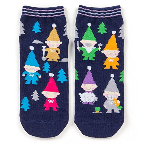 Home Made Dwarf Costume (Sanrio Seven Series dwarf adult sneaker socks From Japan New)