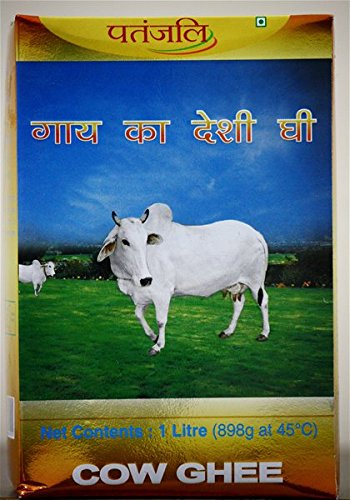Patanjali Cow's Ghee made from Cow's Milk (1 Kg)